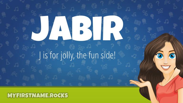 My First Name Jabir Rocks!