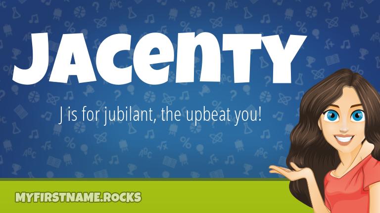 My First Name Jacenty Rocks!