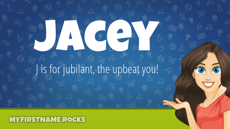 My First Name Jacey Rocks!