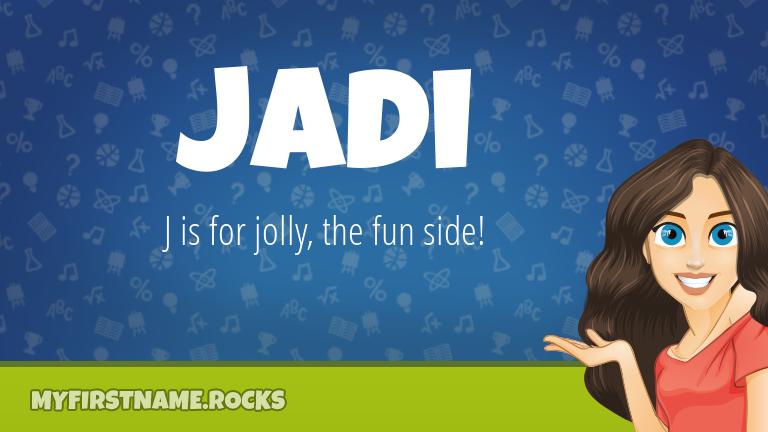 My First Name Jadi Rocks!