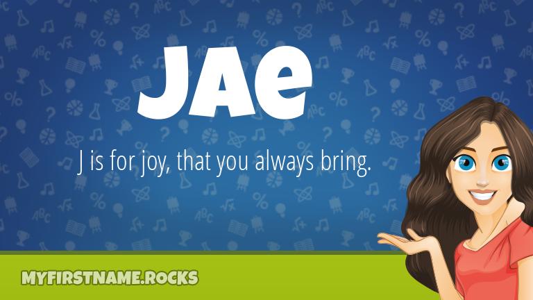 My First Name Jae Rocks!