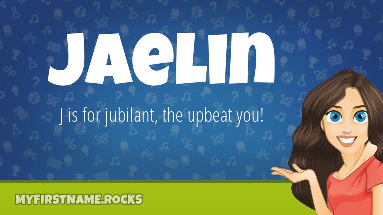 My First Name Jaelin Rocks!