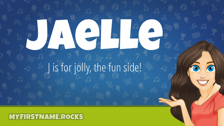 My First Name Jaelle Rocks!