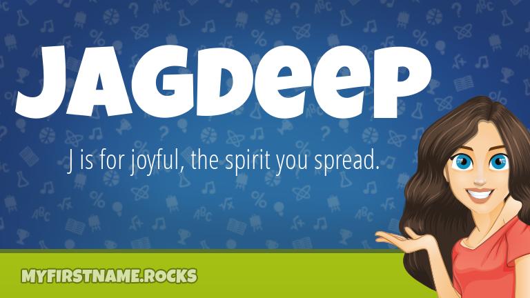 My First Name Jagdeep Rocks!
