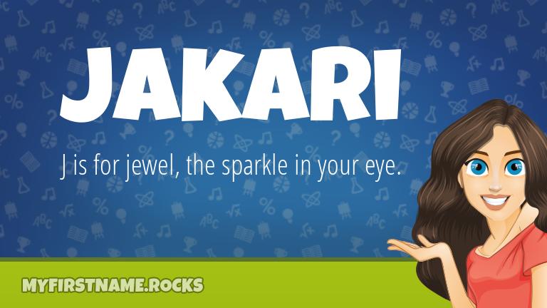 My First Name Jakari Rocks!