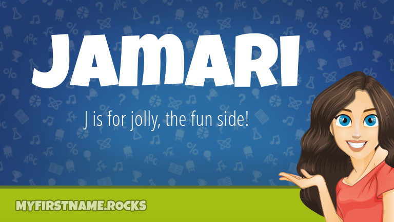 My First Name Jamari Rocks!