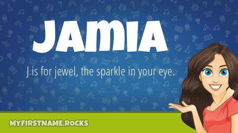 My First Name Jamia Rocks!