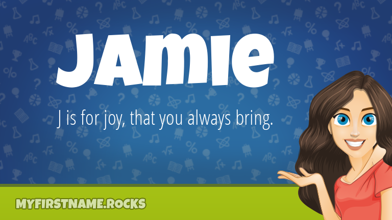 My First Name Jamie Rocks!
