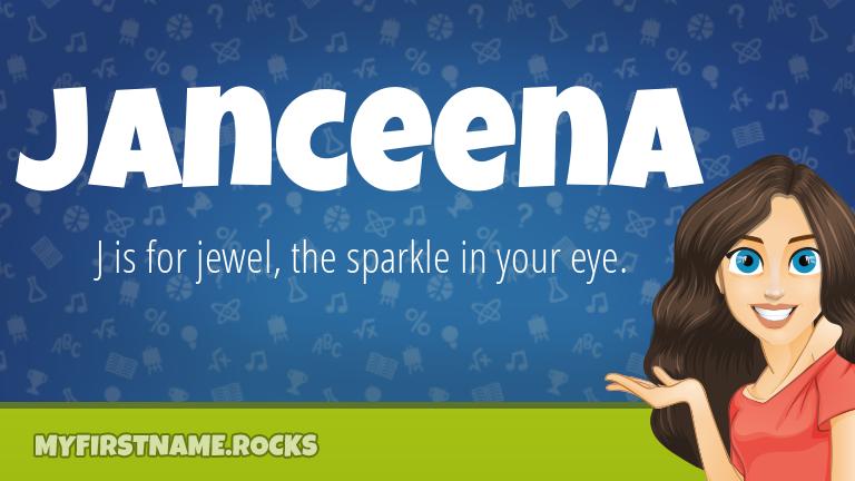 My First Name Janceena Rocks!