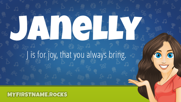 My First Name Janelly Rocks!