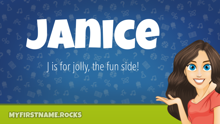 My First Name Janice Rocks!