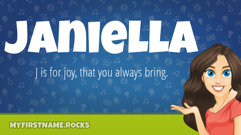 My First Name Janiella Rocks!
