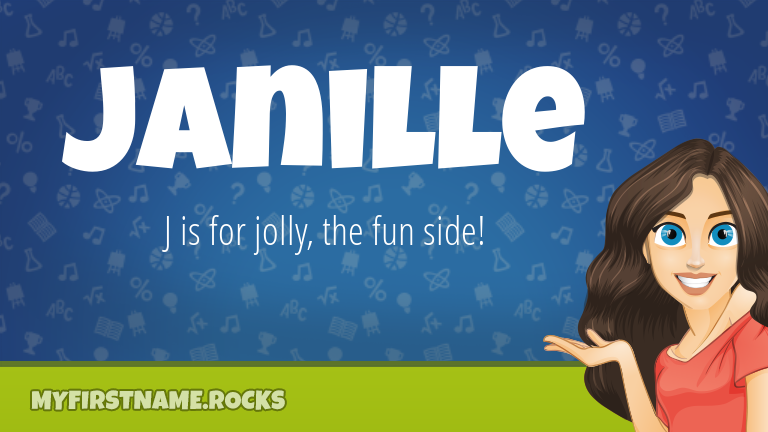 My First Name Janille Rocks!