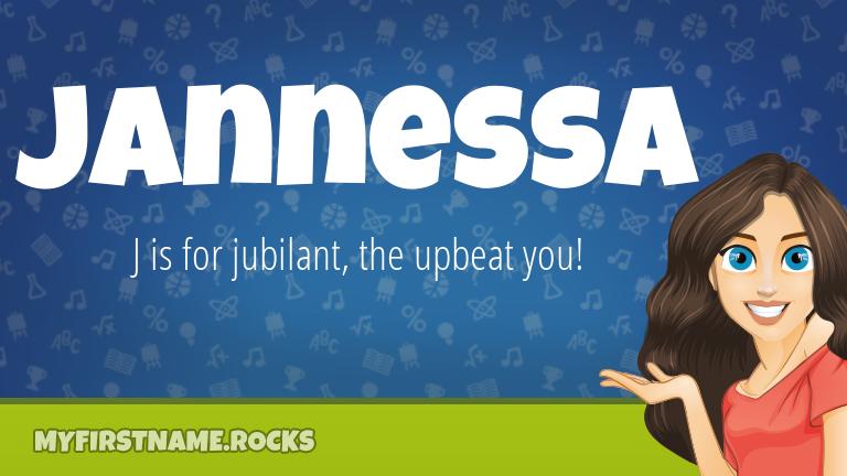 My First Name Jannessa Rocks!