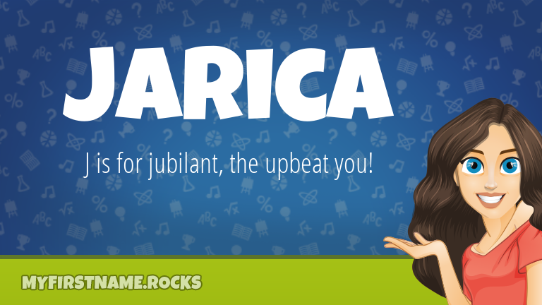 My First Name Jarica Rocks!