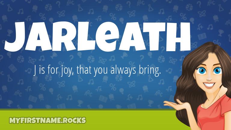My First Name Jarleath Rocks!