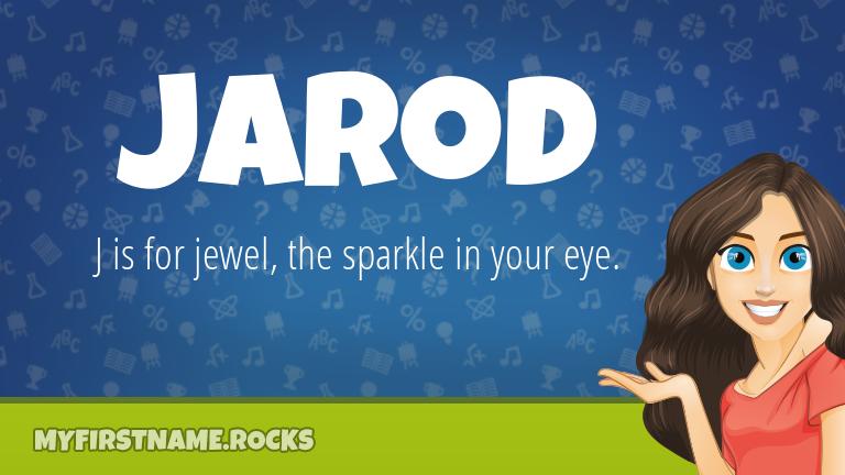 My First Name Jarod Rocks!