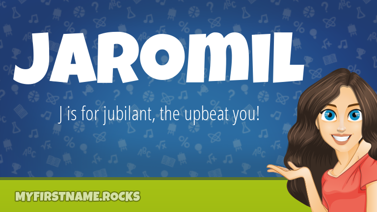 My First Name Jaromil Rocks!