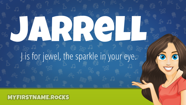 My First Name Jarrell Rocks!