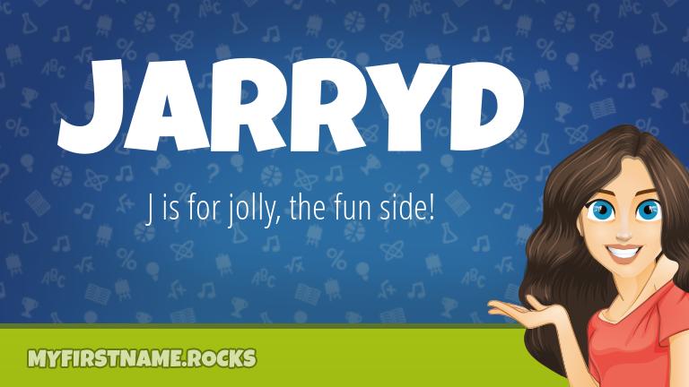 My First Name Jarryd Rocks!