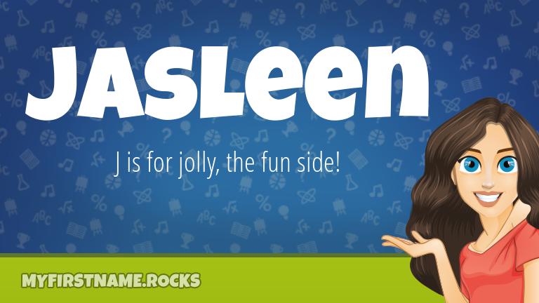 My First Name Jasleen Rocks!