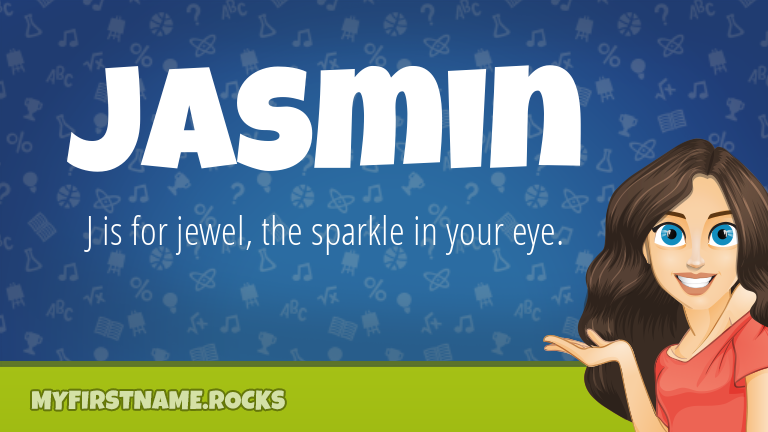 My First Name Jasmin Rocks!