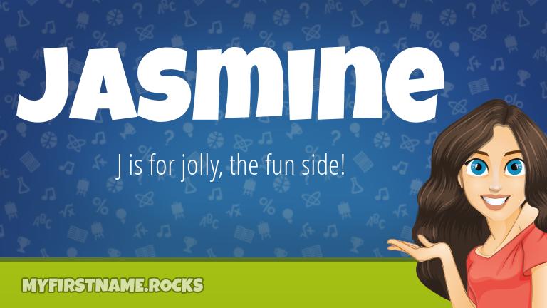 My First Name Jasmine Rocks!