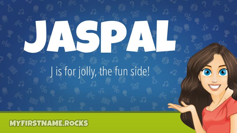 My First Name Jaspal Rocks!