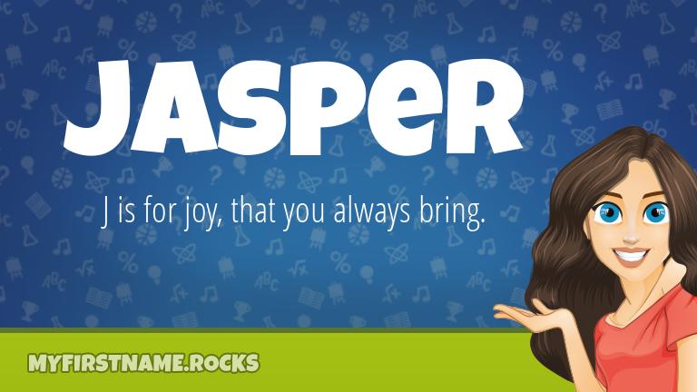 My First Name Jasper Rocks!