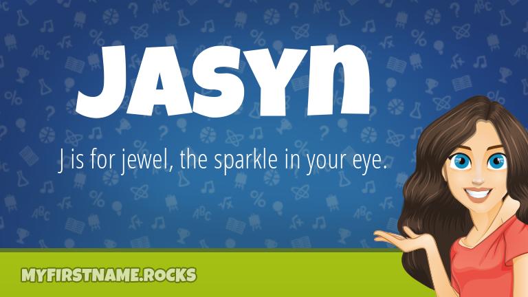 My First Name Jasyn Rocks!