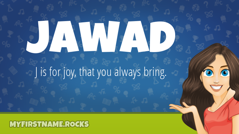 My First Name Jawad Rocks!