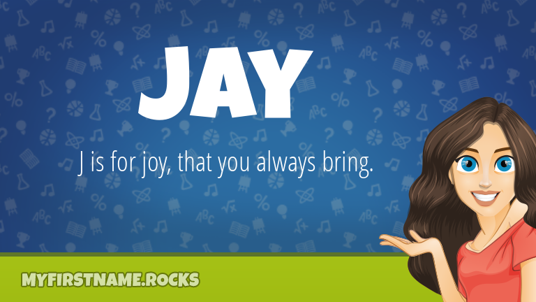 My First Name Jay Rocks!