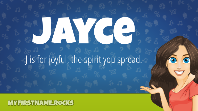 My First Name Jayce Rocks!