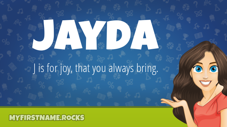 My First Name Jayda Rocks!