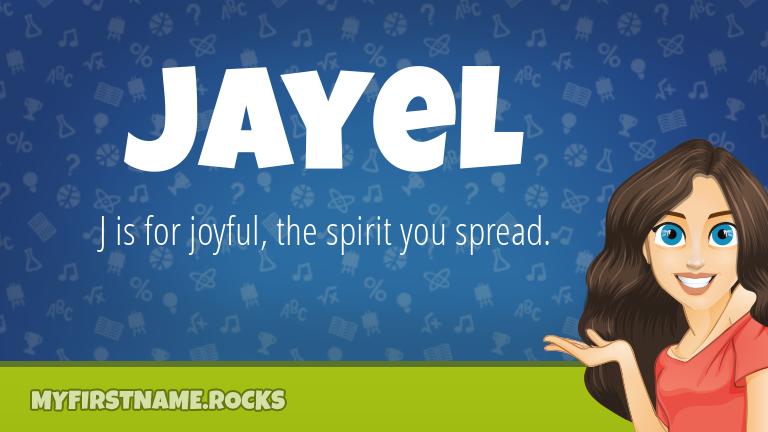 My First Name Jayel Rocks!