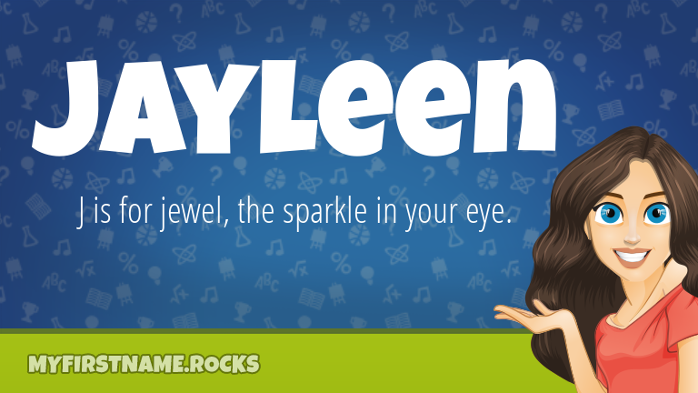 My First Name Jayleen Rocks!