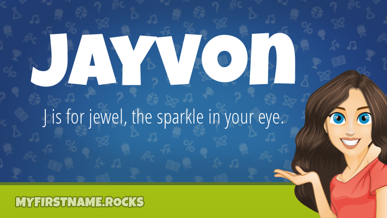 My First Name Jayvon Rocks!