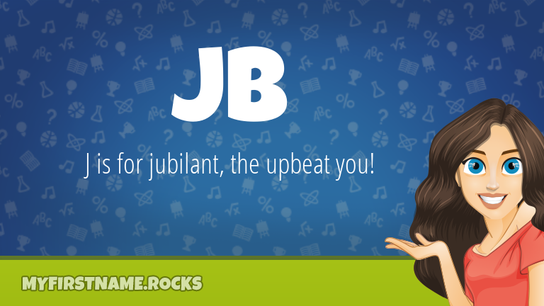 My First Name Jb Rocks!