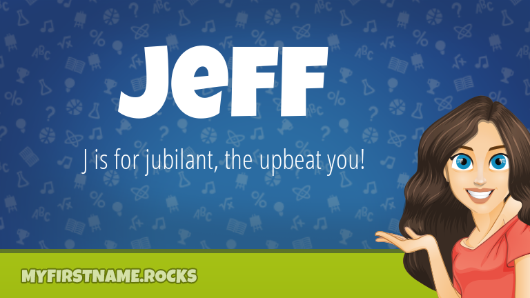 My First Name Jeff Rocks!