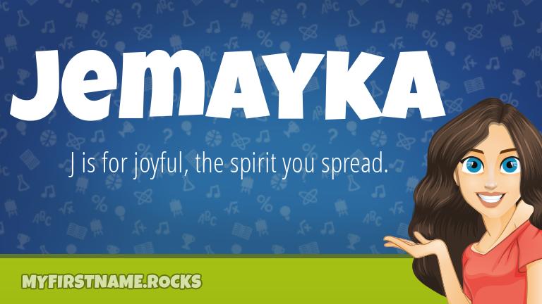 My First Name Jemayka Rocks!