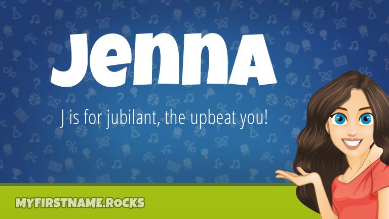 My First Name Jenna Rocks!