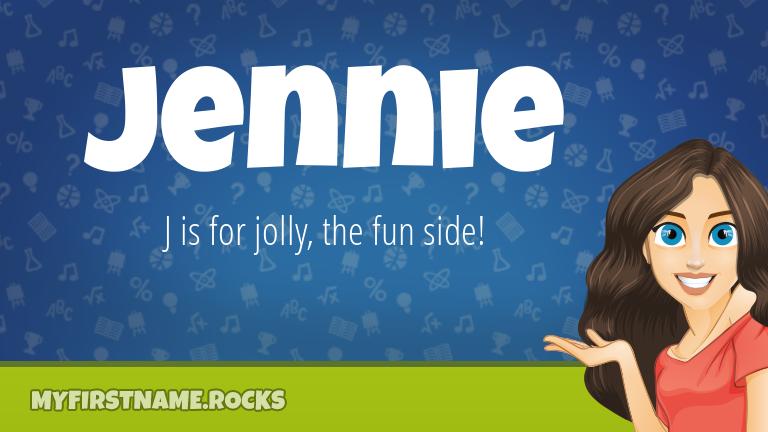 My First Name Jennie Rocks!