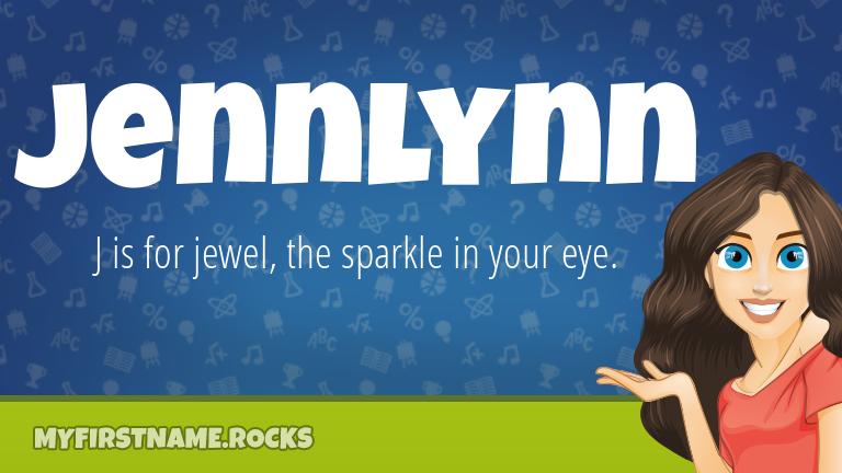 My First Name Jennlynn Rocks!