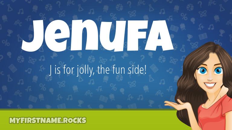 My First Name Jenufa Rocks!