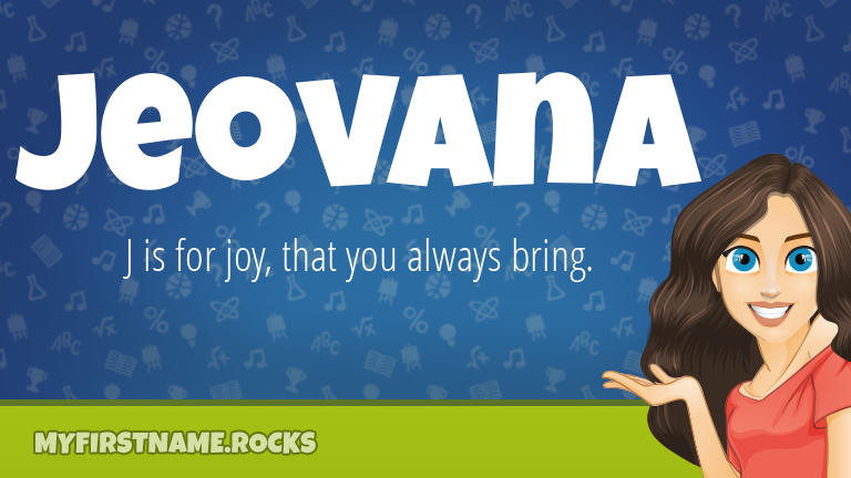 My First Name Jeovana Rocks!