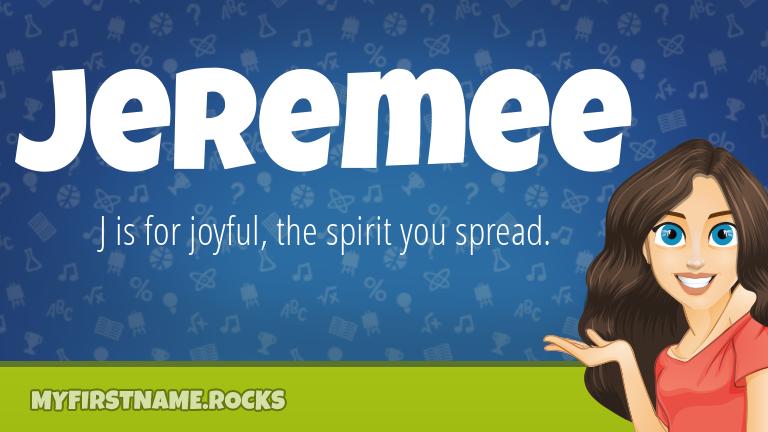 My First Name Jeremee Rocks!