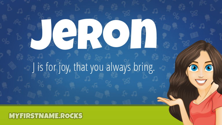 My First Name Jeron Rocks!