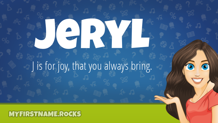 My First Name Jeryl Rocks!