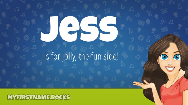 My First Name Jess Rocks!
