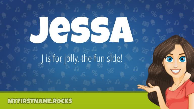 My First Name Jessa Rocks!